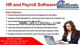 HR Payroll Software in UAE with Gratuity Calculation