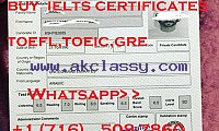 get legit IELTS certificate without taking exams  Whatsapp..+1 (716) 508-7860
