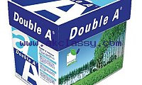 A4 (210 x 297 mm) and A3 (297 x 420 mm) Copier Double A paper one 80gsm a4 copy paper