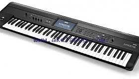 Korg KROME-73 Key Music Workstation Keyboard with Soft Case