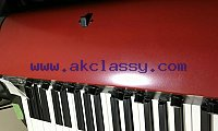 KORG SV-1 73 RED Stage Vintage Piano From Japan black and red.