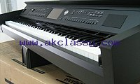 PIANO YAMAHA CVP 705B CLAVINOVA CVP705 B DIGITAL BLACK WORKSTATION KEYBOARD