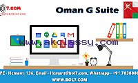 Oman G Suite | Google Business Email