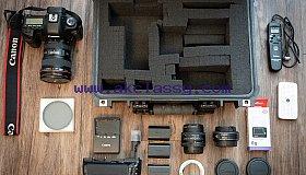 Canon EOS 5D Mark III Digital SLR Camera With Box.