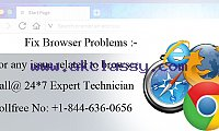 FIX BROWSER PROBLEMS ON WINDOWS/ MAC +1-844-636-0656.