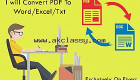 I will do data entry for any types of company