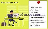 I will do data entry for any types of company