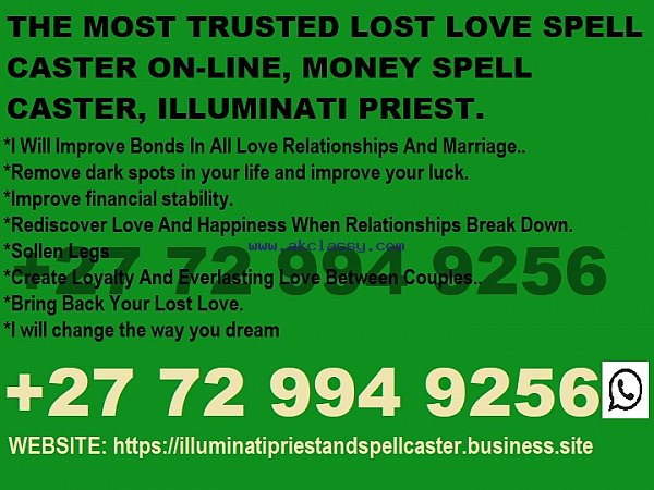 In GOBORONE ___%₀₇₂₉₉₄₉₂₅₆ ___*Lost Love Spell Caster in USA, BLOEMFONTEIN
