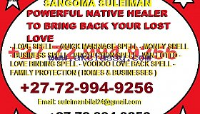 In MAMELODI (?]~[+27-72-994-9256] ___?Lost Love Spell Caster in MABOPANE, RANDBURG