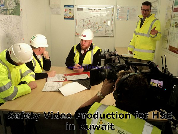 Safety Video Production for HSE in Kuwait