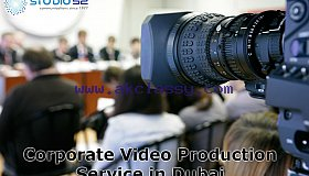 Topmost Corporate Video Production Service in Dubai