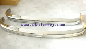 Volkswagen Karmann Ghia Bumper 72-74 in stainless steel