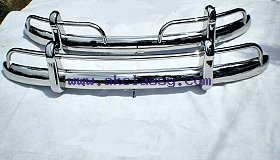 Volkswagen Beetle US Bumper 55-67 in stainless steel