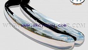 Volkswagen Beetle EU Blade Bumper 55-67 in stainless steel