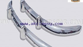 Volvo PV 444 Bumper 47-58 in stainless steel