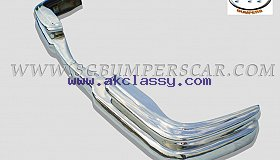 Mercedes W111 Coupe 2 Doors Bumper 59-68 in stainless steel