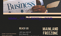 Business Set-up in UAE | Call #971544472157