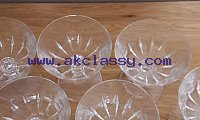 Lead Crystal Champagne Glasses