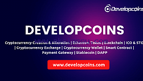 ERC-721 Token Development Company - Developcoins