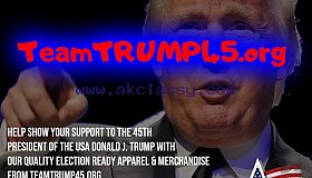Get Election READY with Apparel & Merchandise from TeamTRUMP45.org
