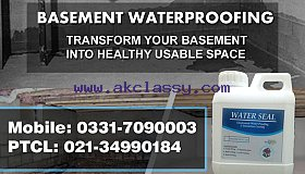 Basement Waterproofing Services in Karachi Pakistan