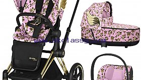 Cybex Priam Travel System - Cherubs by Jeremy Scott (Pink)
