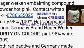 hager werken embalming powder pink hot 0786655025