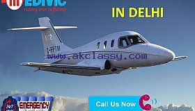 Rent Top-Level Air Ambulance Service in Delhi at Very Low Fare by Medivic