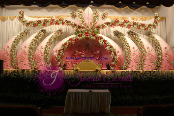 Wedding Stage Decoration sharjah