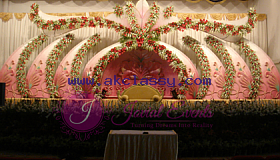Wedding Stage Decoration sharjah