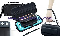 Carrying Case for Nintendo Switch Lite – Video game accessories