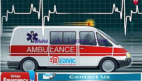 Medivic Road Ambulance Service in Bokaro-Avail Hi-tech Medical Facility at Low Cost