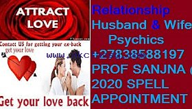 PROF SANJNA TRADITIONAL PRAYER CALL /WHATSSAP +27838588197.