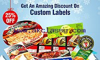 Get An Amazing 25% Discount On Custom Labels - RegaloPrint