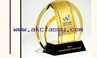Buy Crystal Corporate Trophy in Dubai
