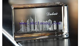 3D Crystal Laser Product
