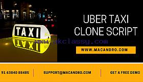 Uber Taxi Clone Script - Macandro