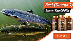 Get Glowing And Radiant Skin With Salmon Fish Oil Capsules
