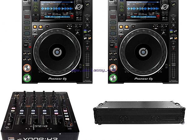 Pioneer CDJ 2000 DJM 800