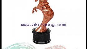 Brown Color Corporate Glitter Award in Dubai