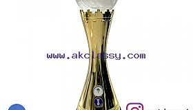 Crystal Football Trophy Maker in Dubai