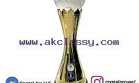 Crystal Football Trophy Maker in Dubai