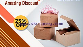 Get Remarkable Discount On Packaging Boxes - RegaloPrint
