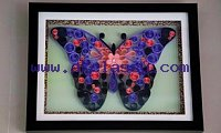 Innovative gifts for home decor Abstract Butterfly art work Aadhi Creation