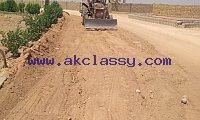 Farm Houses Plots Land on installments on main Super Highway