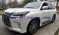 LEXUS LX 570 SUV Gulf Specs 2019 (White) FOR SALE