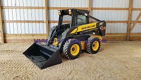 2004 NEW HOLLAND LS180 WHEELED SKID STEER LOADER
