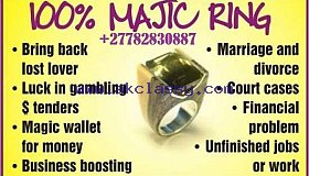 Magic Ring For Power Protection Wealth Love & Marriage Call +27710732372 Liberia