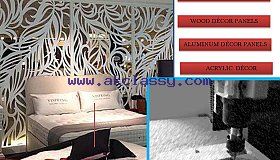 CNC Router cutting services for MDF, ACRYLIC, ALUMINUM & FOREX