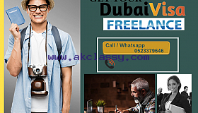2 and 3 year freelance/own Dubai visa available